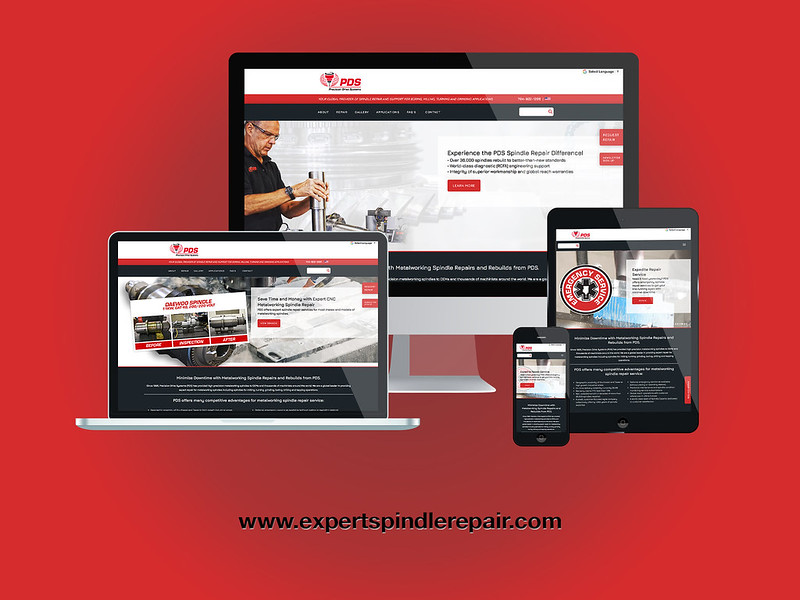 PDS Metalworking Responsive Website Design