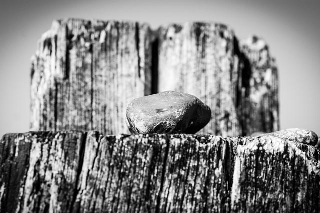 Rock on post