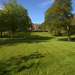 Last of the summer mow lines at Winckley Square, Preston