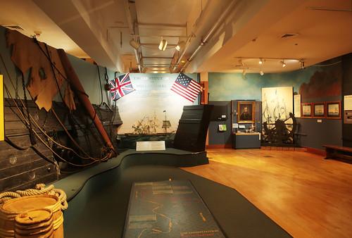 Charlestown Navy Yard: USS Constitution museum