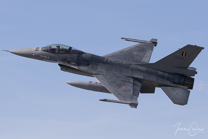General Dynamics F-16AM Fighting Falcon – Belgium-Air Force – FA-106 – Kleine Brogel (EBBL) – 2019 09 14 – Inflight – 01 – Copyright © 2019 Ivan Coninx