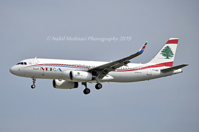 MEA Middle East Airlines T7-MRE Airbus A320-232 Sharklets cn/6978 @ EDDF / FRA 26-05-2019
