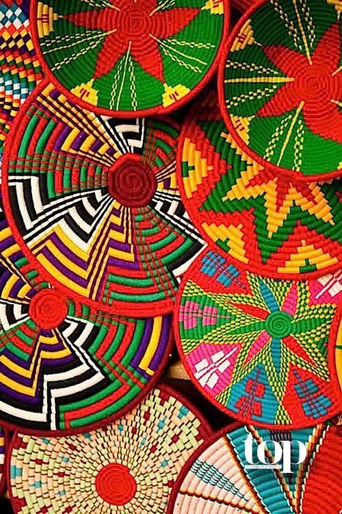 Festivo y colorido