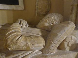 Tomb effigy of Pope Benedict XII