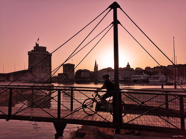 Avant la nuit sur La Rochelle !!!