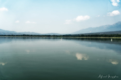 Hazy Day At Kerkini Lake
