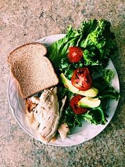 Aveces con pocas cosas se pueden hacer súper platillos saludables #fitness #saludable #gym #recetas #motivación #deportes #nutricion #comida #fitfood #Fitfoods #gymmotivation