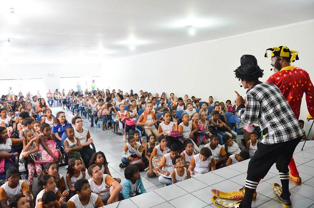 Projeto educação contra a corrupção e sonegação em Carpina