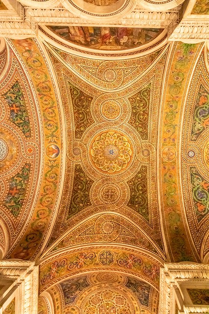 Mosaic Ceiling in Cathedral Basilica of Saint Louis