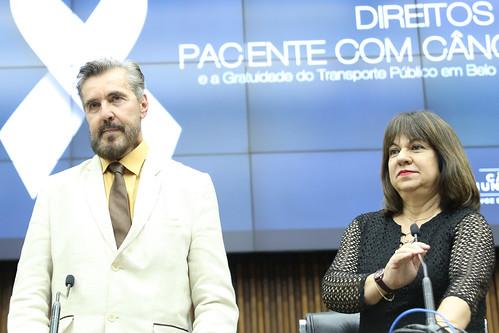 Seminário para debater a política sobre os direitos dos pacientes com câncer no Município de Belo Horizonte com enfoque na construção de políticas públicas de gratuidade no transporte público- Comissão de Orçamento e Finanças Públicas