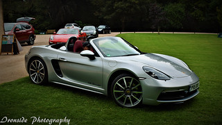 My 718 Arriving at Fyvie Castle
