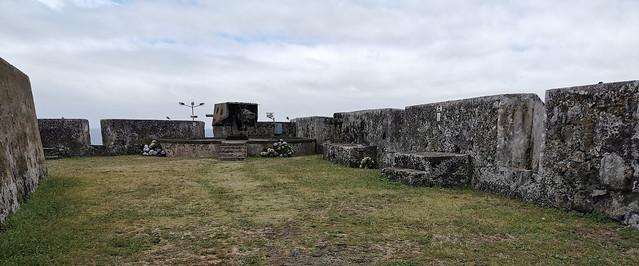 interior muralla Forte de Sao Bras Ponta Delgada Isla San Miguel Azores Portugal 02