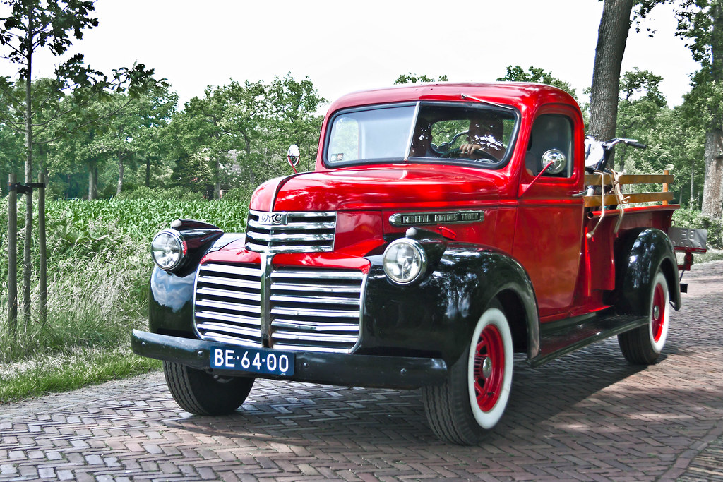 GMC EC-102 Pick-Up Truck 1946 (3002)