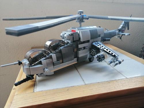 MI 24 HIND lego