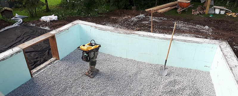 Crawlspace ready for concrete pad 20190917_091722 PANO