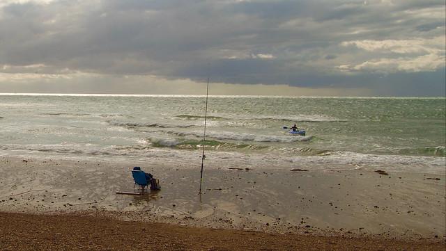 Surf-casting & kayak à Audresselles