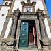 portada exterior Iglesia de San Pedro Ponta Delgada Isla San Miguel Azores Portugal