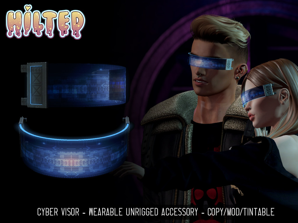 HILTED – Cyber Visor for Femboy Hunt