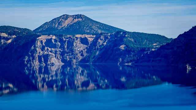 Cliffs on Crater Lake