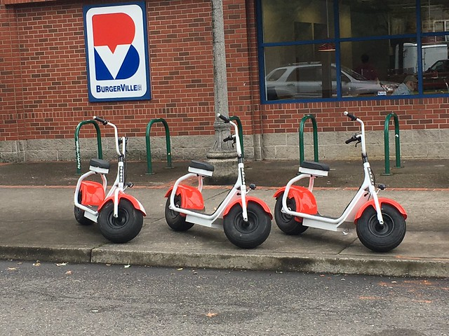 Fat tired electric scooters?