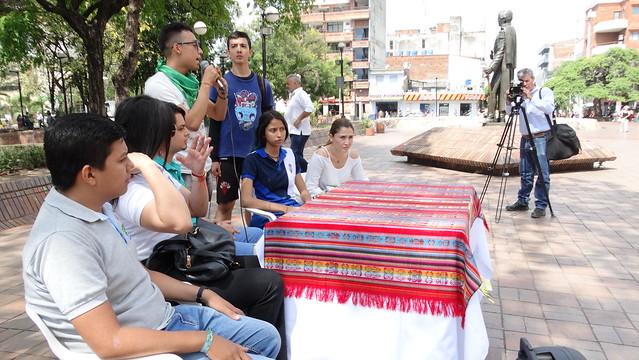 Rueda de Prensa con Jóvenes del municipio de Neiva