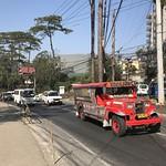 02435 (906) 09-02-2019 Jeepney AYK-867 beside the Botanical Gardens, Leonard Wood Road, Baguio, Philippines.
