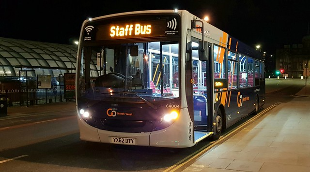 Go North West's 64004 (YX62DTY)