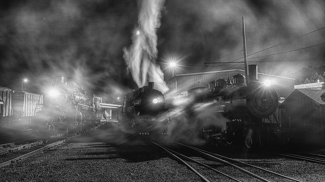 steam in the dark