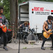 kevinrubin posted a photo:	King to Burn playing at the SOS & Friends Part 2 concert in Tompkins Square Park.