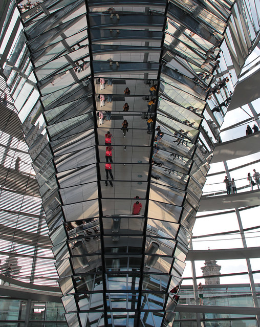 selfie - cupola del Bundestag, Berlino