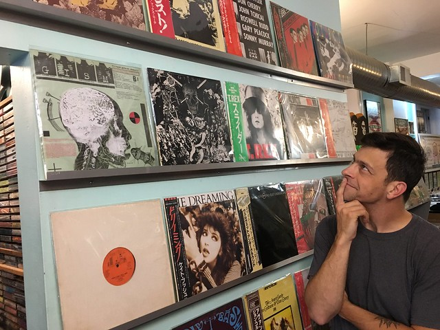 Vinyl Variety: Noise Rock Trio MULTICULT Browse Baltimore's Most Bodacious Record Shops