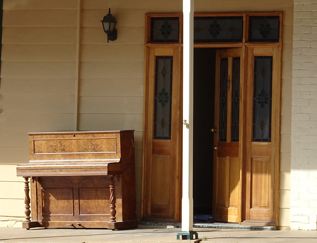 Piano on the Veranda