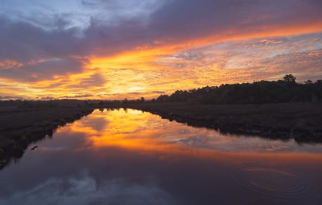 Sunrise On Crooked Creek