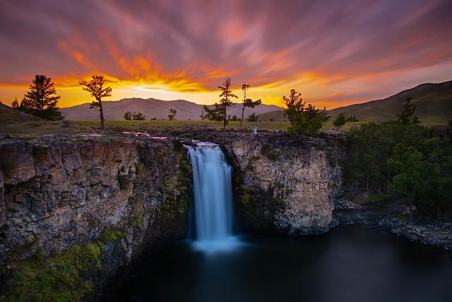Orkhon Falls