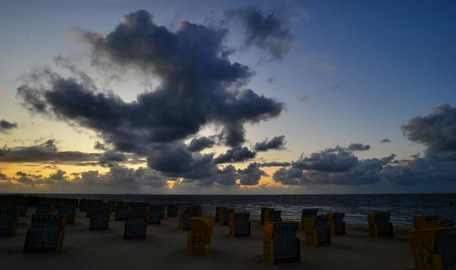 Cuxhaven - Beach Sunset