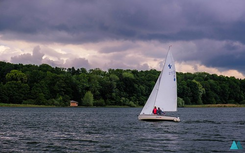 Sailing the Chiemsee