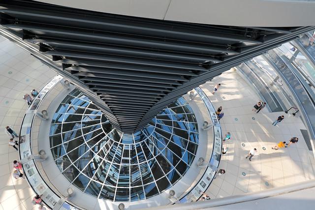 cupola del Bundestag, Berlino