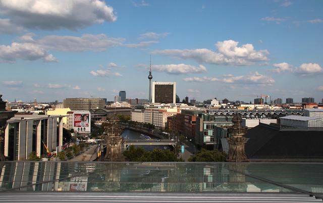 Berlino dalla cupola del Bundestang