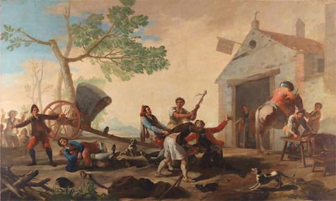 Goya La riña en la Venta Nueva Uti 485