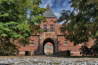 Torzufahrt Haus Egelborg