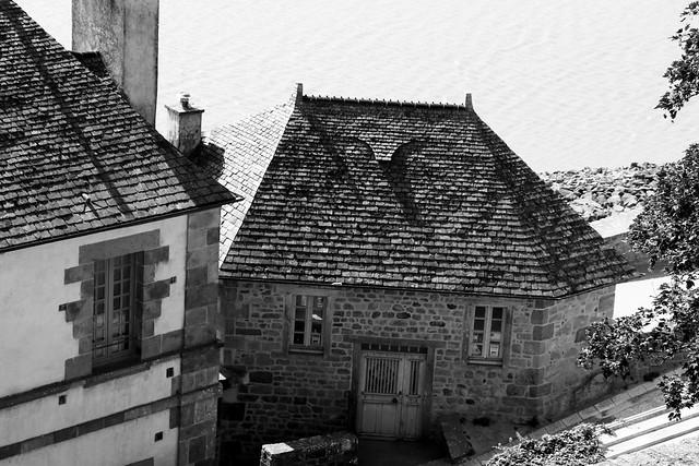 De la belle ardoise, Mont-Saint-Michel