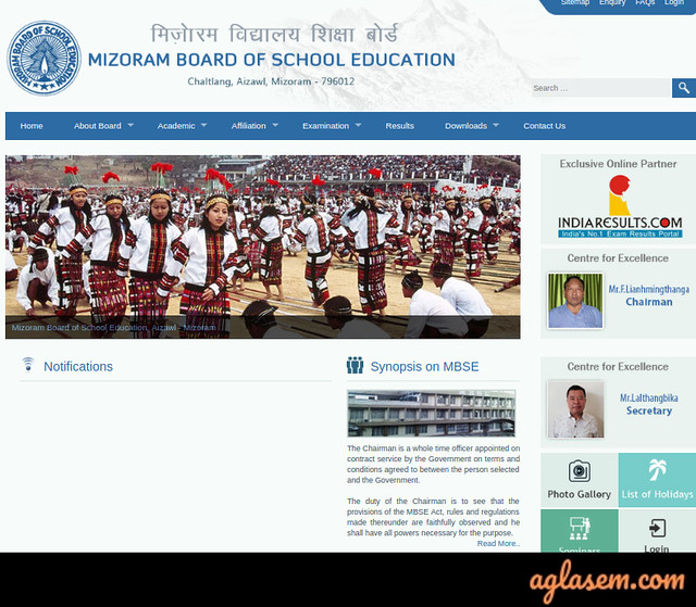 Mizoram Board Admit Card 2020 | MBSE 10th, 12th Admit Card 2020