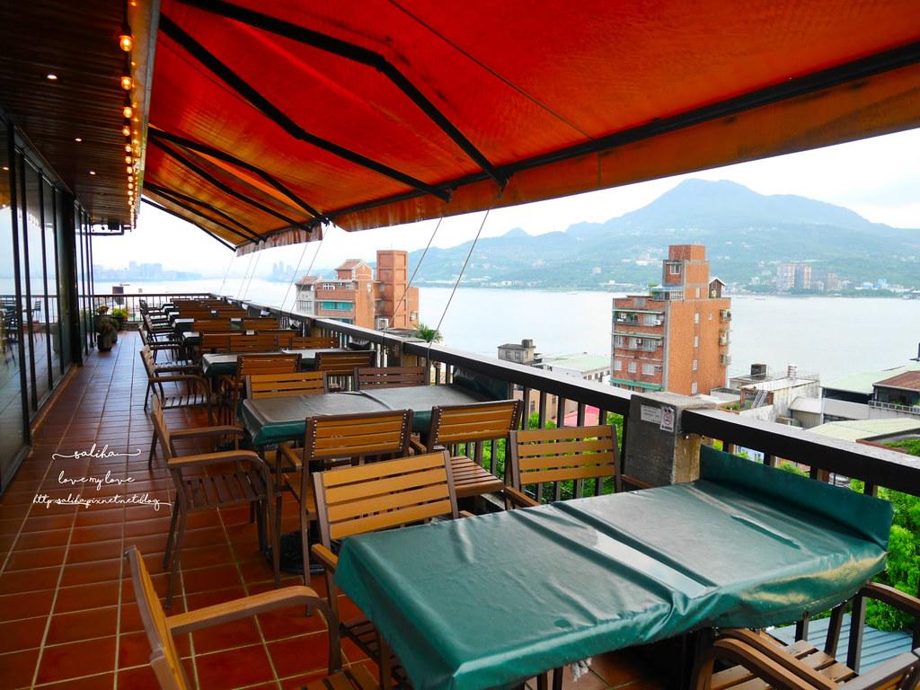 淡水景觀餐廳推薦紅樓咖啡廳Rc1899 Cafe下午茶義大利麵 (1)