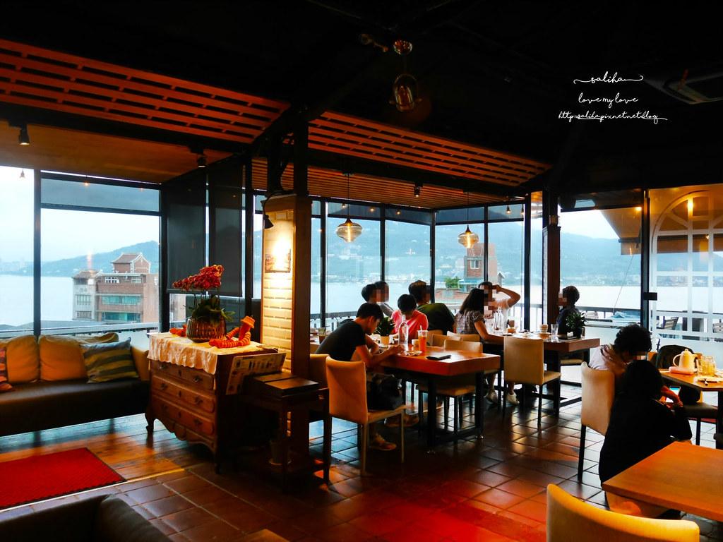 淡水景觀餐廳推薦紅樓咖啡館Rc1899 Cafe父親節母親節大餐 (3)