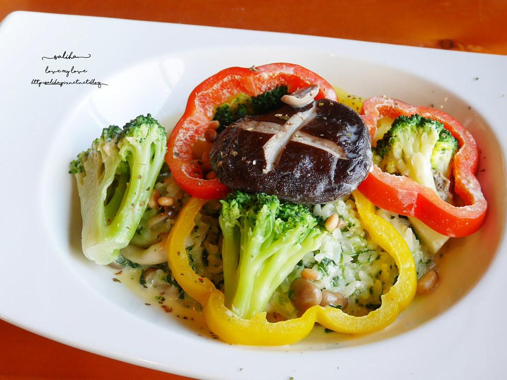 淡水景觀素食餐廳推薦紅樓咖啡館Rc1899 Cafe義大利麵 (2)