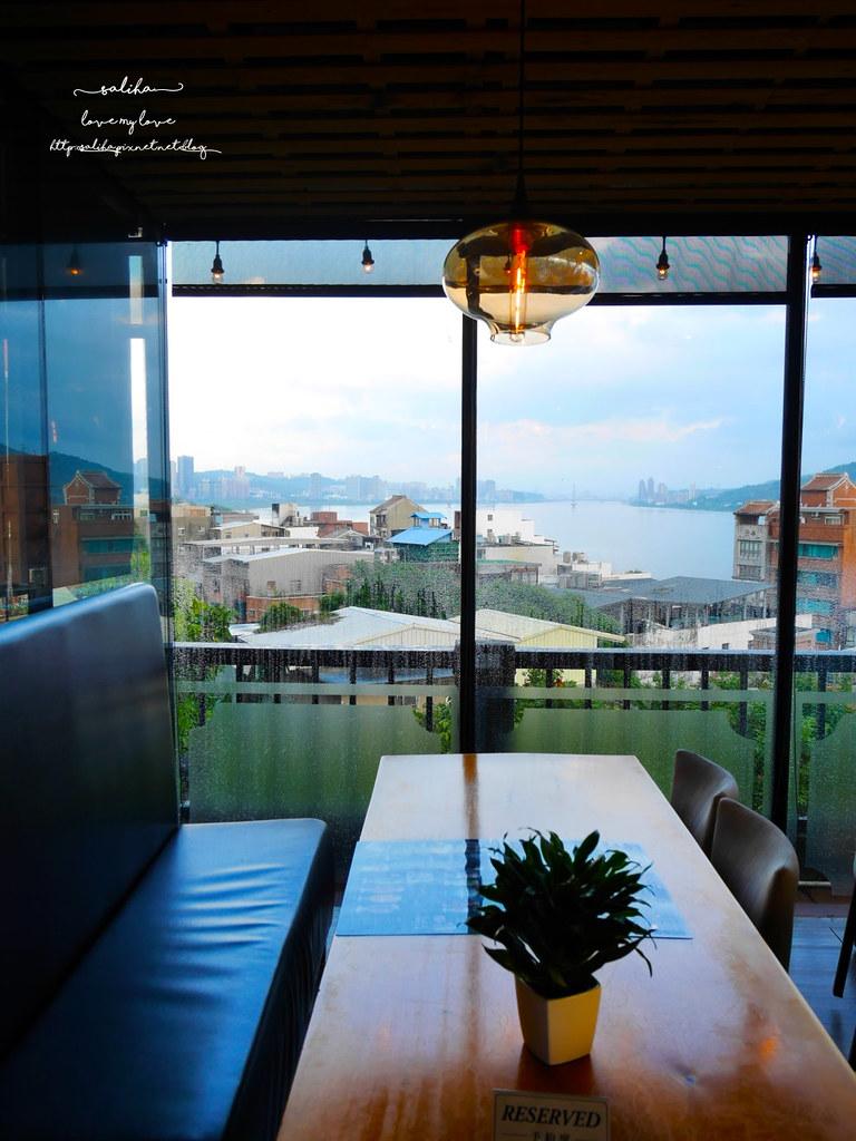 淡水老街附近景觀餐廳推薦紅樓咖啡館Rc1899 Cafe下午茶素食 (2)