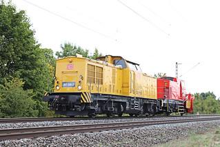 D DB 203 308-2 mit Schneepflug Thüngersheim  16-09-2019