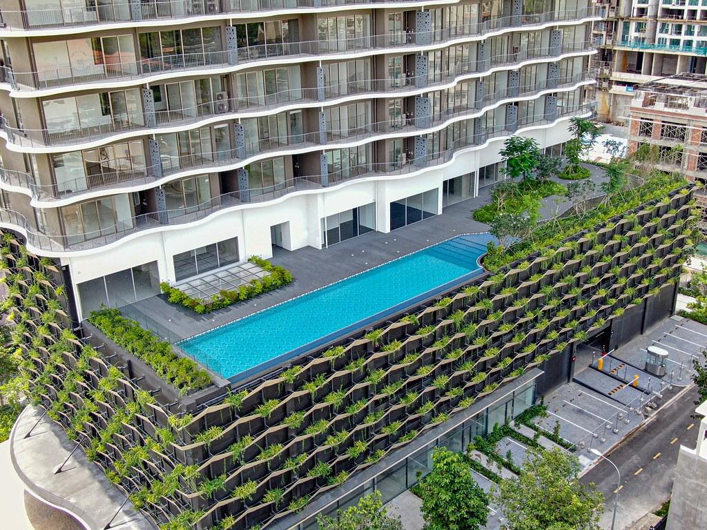 Tiến độ hoàn thiện Waterina Suites quận 2 - Hình ảnh thực tế. 5