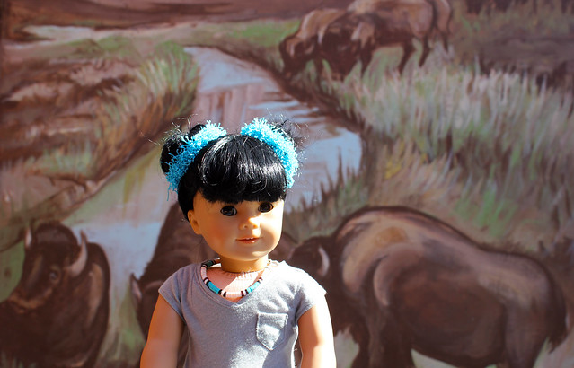Inky in Old Town Albuquerque