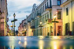 Raining | Kaunas old town